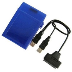 USB 2.0 To Serial ATA HDD Converter & 2.5 inch HDD Store Tank - intl