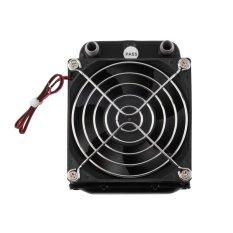 b 80mm air pendingin baris dengan kipas angin untuk CPU komputer Radiator Heat Exchanger