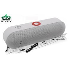 Wintin Baru NBY-18 Mini Bluetooth Speaker Portable Wireless Speaker Sound Sistem 3D Stereo Musik Surround Mendukung Bluetooth, TF AUX USB-Intl