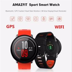 Xiaomi Amazfit Smartwatch International Version with GPS and Heart Rate Sensor - 100% English -Model No. A1612 -Red