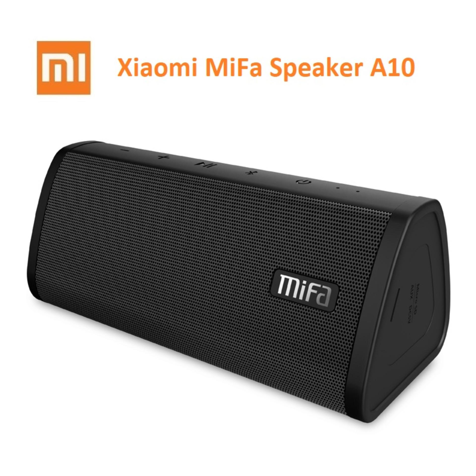 Xiaomi MiFa A10 Bluetooth Portable Speaker with Micro SD slot with Bass 10W Water Resist IPX5 - Hitam