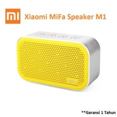 Xiaomi MiFa M1 Bluetooth Portable Speaker Cube with Micro SD - Kuning
