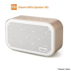 Xiaomi MiFa M1 Bluetooth Portable Speaker Cube with Micro SD - Putih