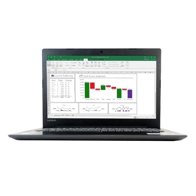 Notebook Lenovo Ideapad 330-15IKB - Core™ i3-7100U - RAM 4GB - 1000GB - Intel® HD Graphics 620 - Black - Laptop Murah