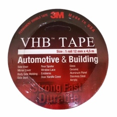 3M VHB Double Tape Automotive Mobil 12 mm x 4.5M