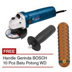 BOSCH GWS 060 + Handle Mesin Gerinda 4