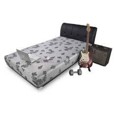Central Springbed Silver Sporty X1 Full Set uk 120x200