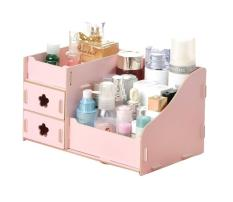 EZY Candy Colored DIY Wooden Organizer Drawer - Pink