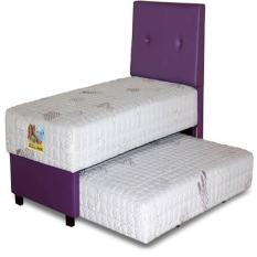 Guhdo Set Kasur Spring Bed 2In1 Happy Kids Latex HB Bravo 140 X 200