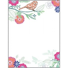 Hello Bird Desk Note Refill, Memo Sheets 150 Note Papers, 3.25 x 4.25