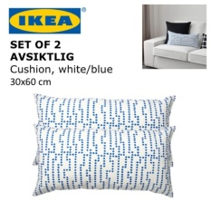 IKEA AVSIKTLIG 30x60 cm Sofa Couch Cushion Pillow Throw Bed Accent Side Small Playful Fun Decor - intl