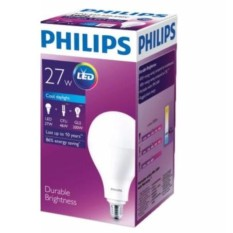 Lampu Bohlam Bulb LED Philips 27W - Cool Day Light Putih - 27 Watt