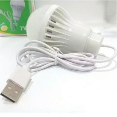 LED Bohlam Lampu USB 7 Watt - 1 Pcs Random