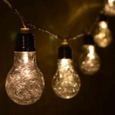 LED Hanging Bulbs String / Lampu LED Bolam Gantung Hias for Decor Vintage, Romantic or Industrial Look Warm White