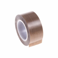 Lightning Power-25mm X 10 M Meter PTFE Teflon Adhesive Tape untuk Vakum, Tangan atau Impulse Sealer (Brown) -Intl