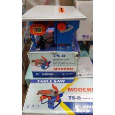 MODERN Mesin Gergaji Meja Table Circular Saw 8 inch 200 mm TS 8