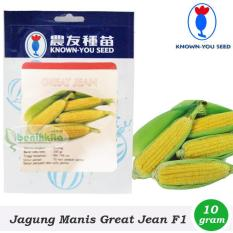 Obral Murah Benih-Bibit Jagung Manis Great Jean F1 (Known You Seed)