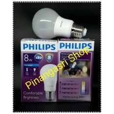 Promo Lampu LED Philips 8 Watt 8W Philip 8 W 8Watt Putih PENGGANTI Bohlam 9 Watt 9W Bulb 9 W SINGLE