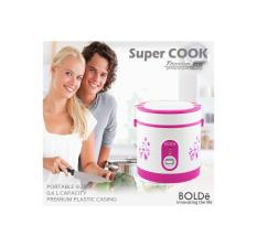 RICE COOKER 3 IN 1 SUPERCOOK ASLI BOLDe paling murah ukuran 0.6 liter