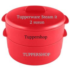 Tupperware Cherry Steam It Susun 2 dan Susun 3