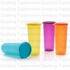 Tupperware New Giant Tumbler - 4pcs - Warna Warni