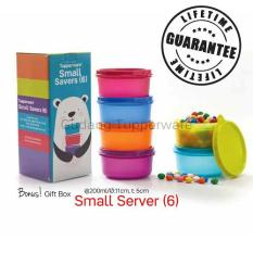 Tupperware Small Server 6pcs - Warna Warni