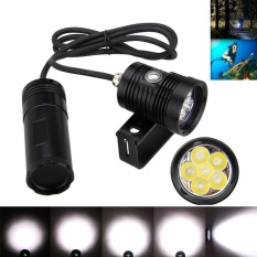 Underwater 150 M 10000lm 6x L2 LED SCUBA Diving Flashlight Torch Light + Bracket SJCAM-Intl