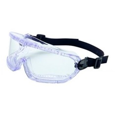 UVEX by Honeywell 11250810 V-Maxx Safety Goggle Indirect Vent, Neoprene Headband, Clear Lens with Fog-Ban Anti-Fog Coating - intl