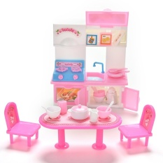 20Pcs/lot Creative Kitchenware Dinner Tables Cupboard Sink for Barbies Dolls - intl
