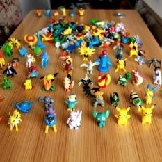 72 Piece Pokemon Figure One Piece Figma Kapal Thousand Sunny Mega Zord - Ksygk4