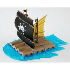 Action Figure One Piece Marshall D Teach Ship Kapal Kurohige - 5556Aa - Original Asli