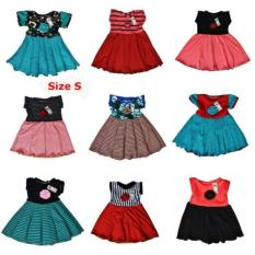 Dress Anak Cantik Uk S Umur 0-12 Bln