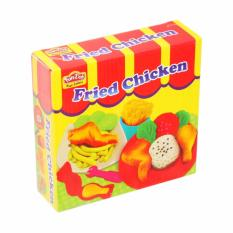 Fun-doh fried chicken mainan anak/syafia top brand