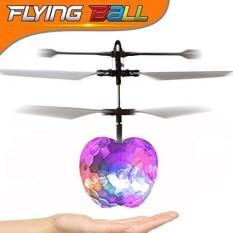Gbd RC Mainan, RC Flying Bola Pesawat Terbang, tangan Spinner RC Drone Helikopter Induksi Inframerah Dibangun Di-Dalam Shinning LED Lighting untuk Anak Remaja Anak Laki-laki Perempuan Dewasa Ulang Tahun hadiah-Internasional
