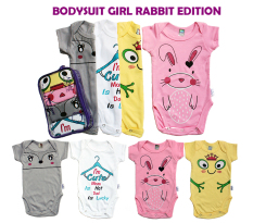 Kazel Bodysuit Girl Rabbit Edition - L ( Usia 9 s.d 12 bln)