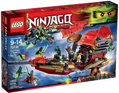 Lego 70738 Ninjago Final Flight Of Destiny's Bounty