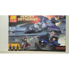 Lego Lele 69300 Heroes Gathering ( Civil War - Captain Amerika ) - Ywdip2