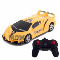 MOMO Toys Racing Car RC Noble Car Kuning BO - Mainan Mobil Remote Control