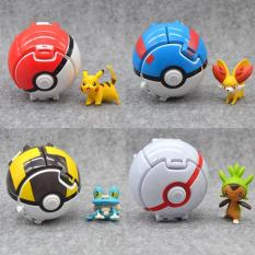 Pokeball Lempar Satuan Pokemon Figure One Piece Kapal Thousand Sunny  - 3O5fjv