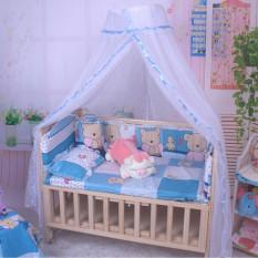 Musim Panas Bayi Kelambu Bed Canopy Kelambu Bayi Balita Putih Sayang Dome-ต่างประเทศ