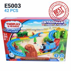 Thomas And Friends Motorized Railway With Intelligent Sensor & Dialog Mainan Kereta Thomas E5003