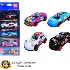 Tomindo Toys Die Cast Car Pull Back isi 4 pcs - TH714 / Mainan Anak / Mainan Mobil Mobilan