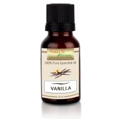 Happy Green Vanilla Essential Oil -10 ml - Minyak Vanili