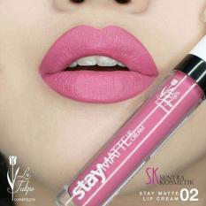 La Tulipe Stay Matte Lip Cream - 02