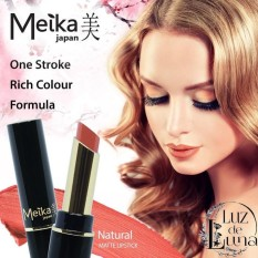Meika Lipstick Matte Natural - Orange Nude