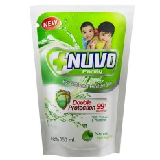 NUVO Family Liquid Soap Double Protection Nature Refill 250ml