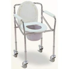 PALING DI CARI - COMMODE CHAIR RODA - KURSI BAB RODA SELLA 696