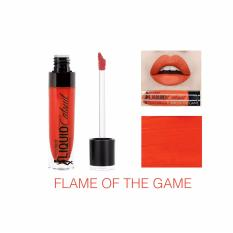 Wet n Wild MegaLast Liquid Catsuit Matte Lipstick Shade Flame Of The Game