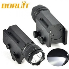 Boruit Baru 1800 Lumen XM-L L2 LED Taktis Senter 1 Mode Light Hand Torch Lentera Portabel + Mount untuk Outdoor Berburu-Intl