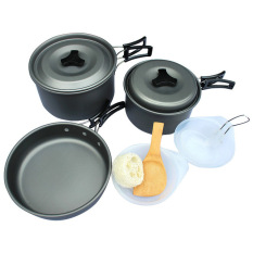 Cooking Set Outdoor Ultralight DS-300 Cocok Buat Camping